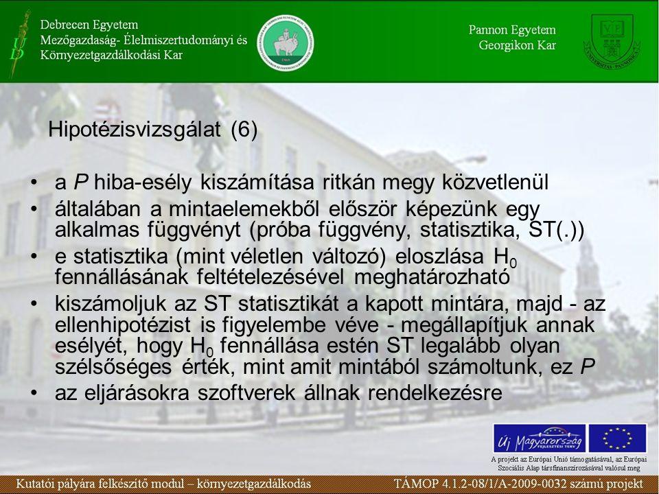 Hipotézisvizsgálat (6)