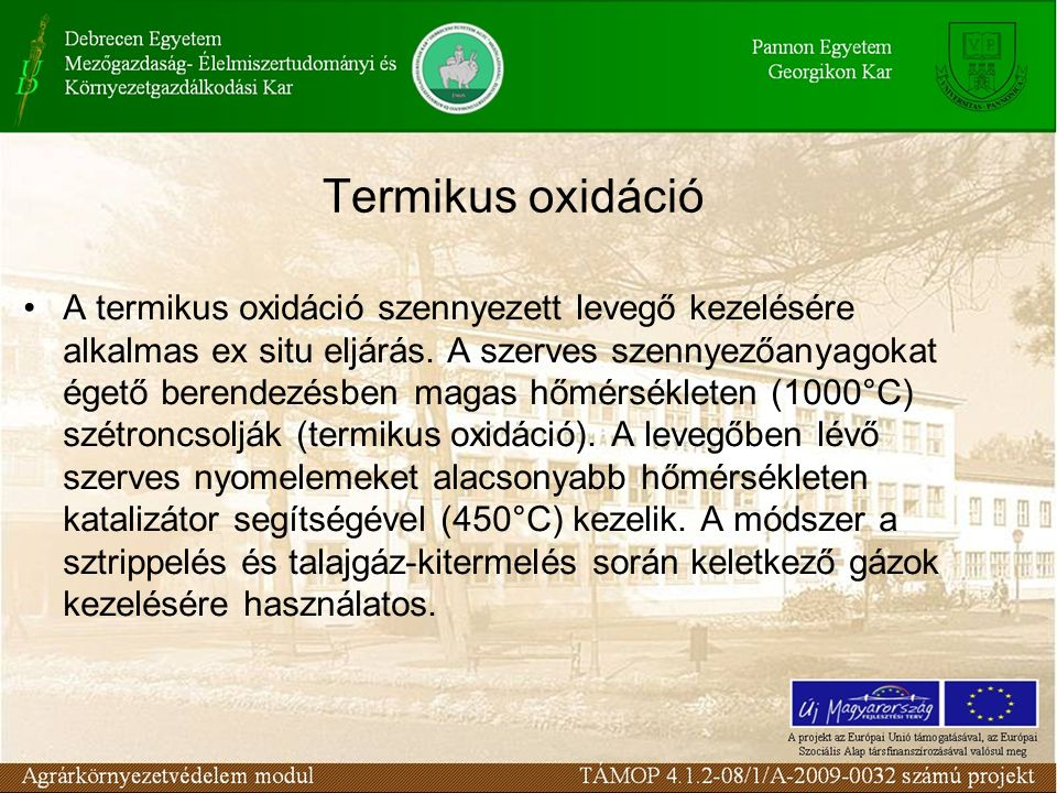Termikus oxidáció