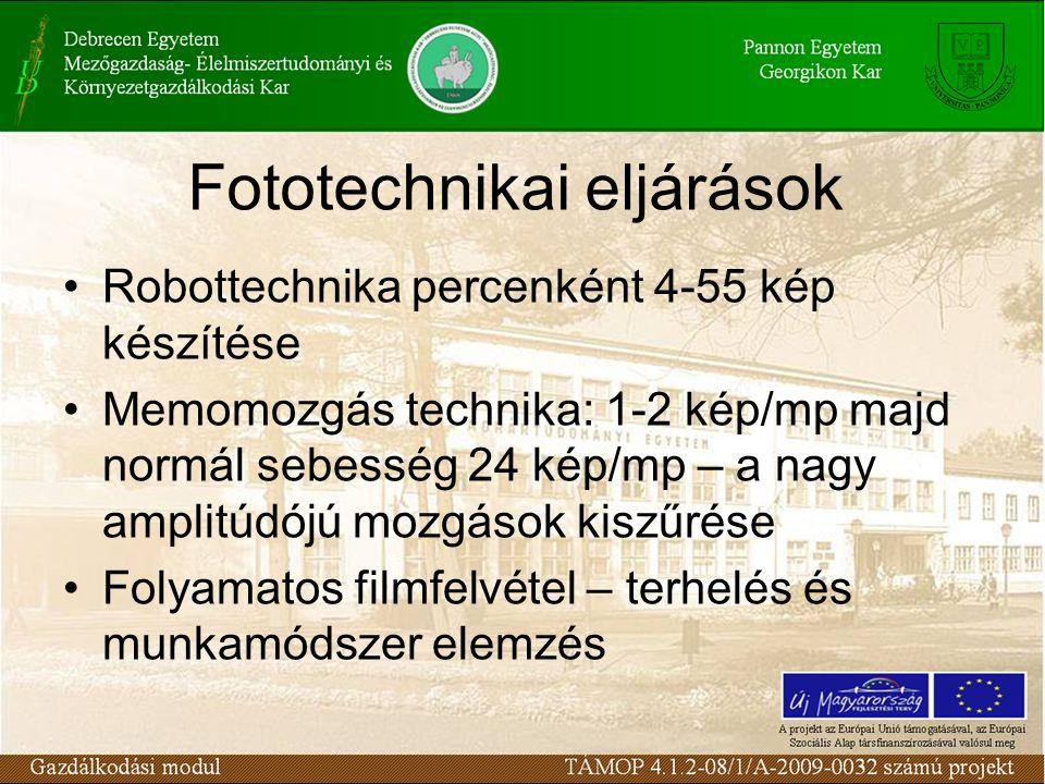 Fototechnikai eljárások