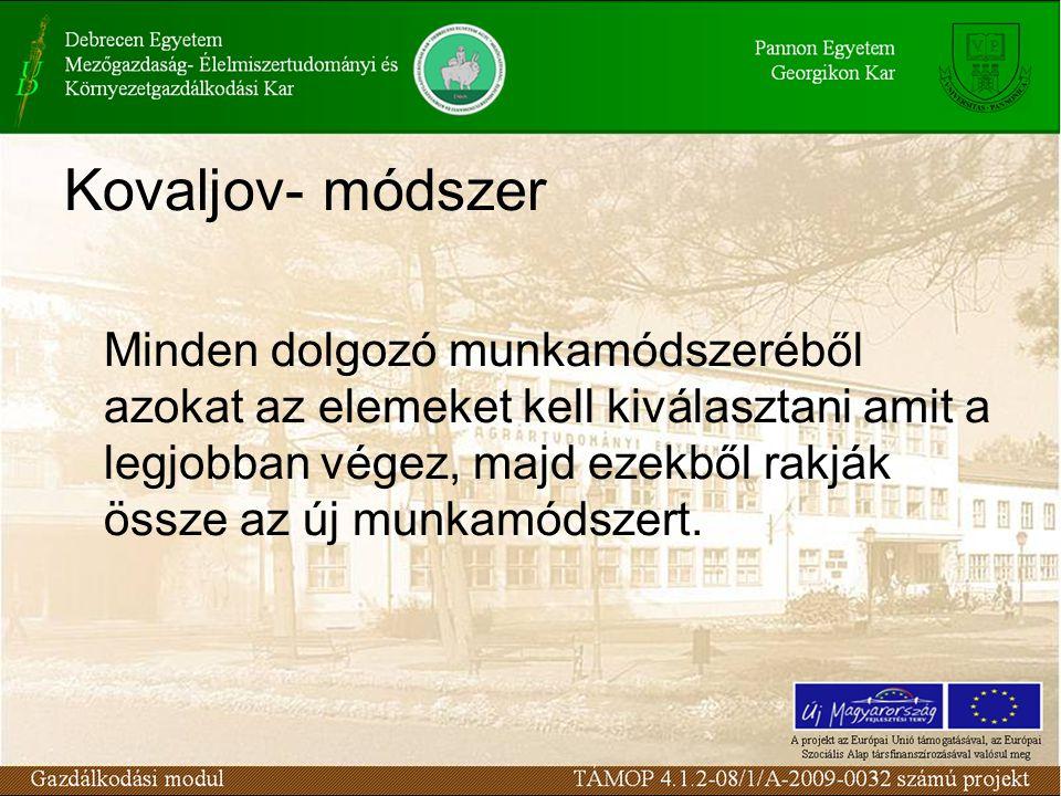 Kovaljov- módszer