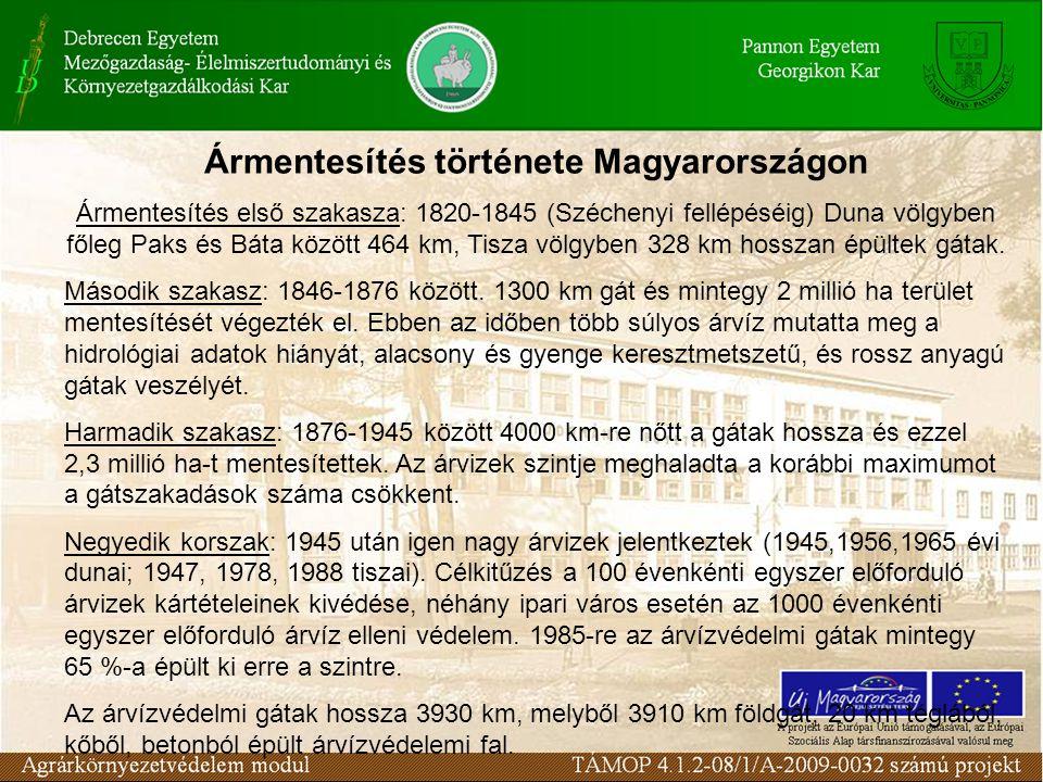 Ármentesítés története Magyarországon