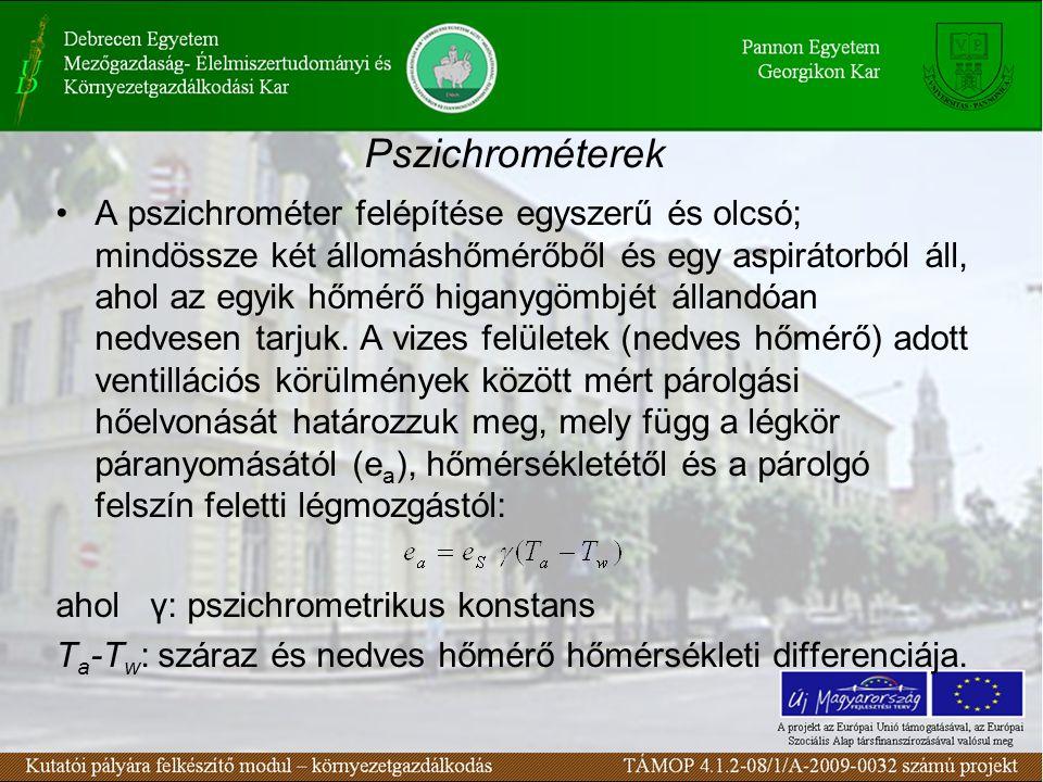 Pszichrométerek