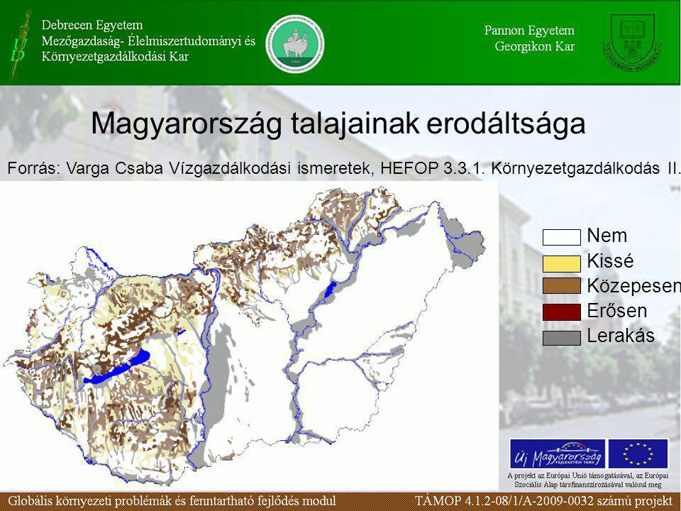 Magyarország talajainak erodáltsága