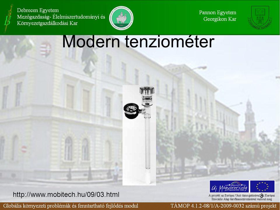 Modern tenziométer http://www.mobitech.hu/09/03.html