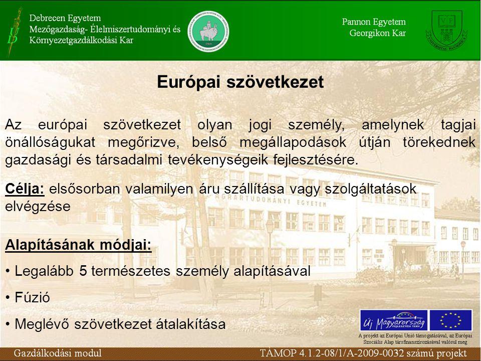 Európai szövetkezet