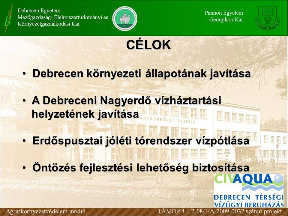 CÉLOK Debrecen környezeti állapotának javítása