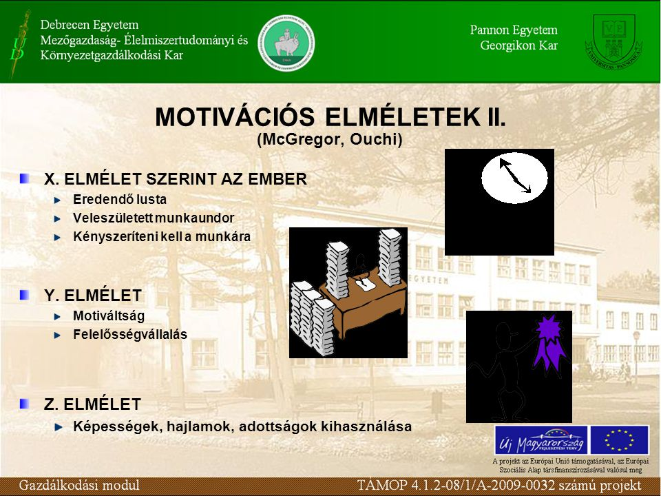 MOTIVÁCIÓS ELMÉLETEK II.