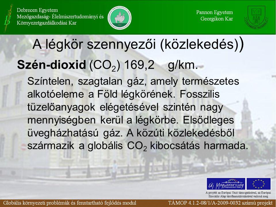 A légkör szennyezői (közlekedés))