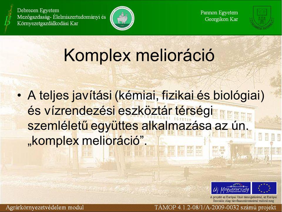 Komplex melioráció