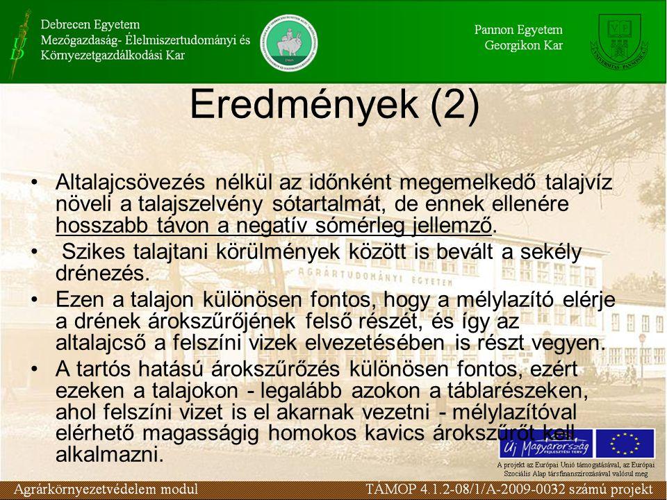 Eredmények (2)