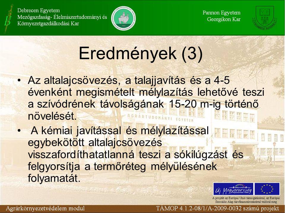 Eredmények (3)
