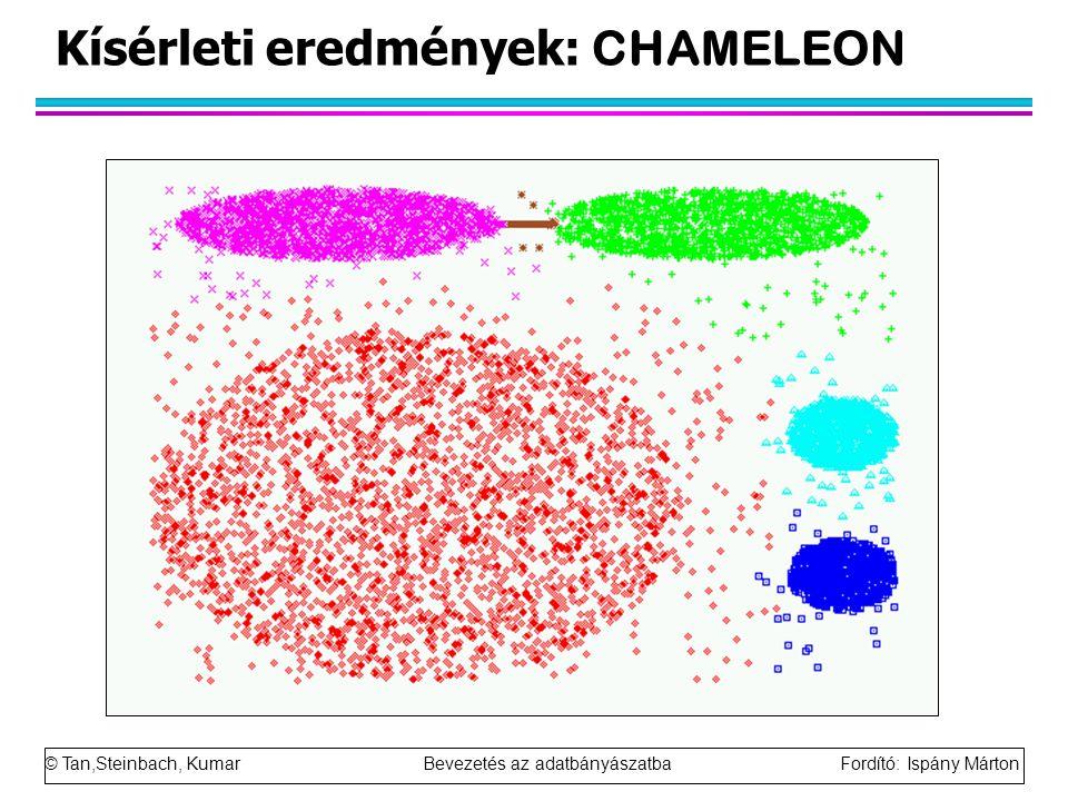 Kísérleti eredmények: CHAMELEON