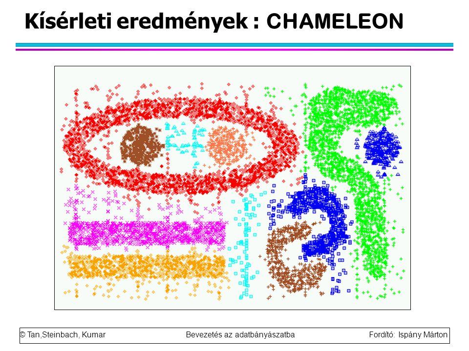 Kísérleti eredmények : CHAMELEON
