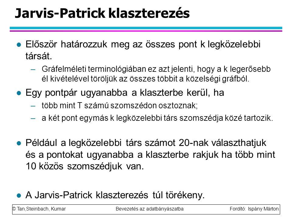 Jarvis-Patrick klaszterezés