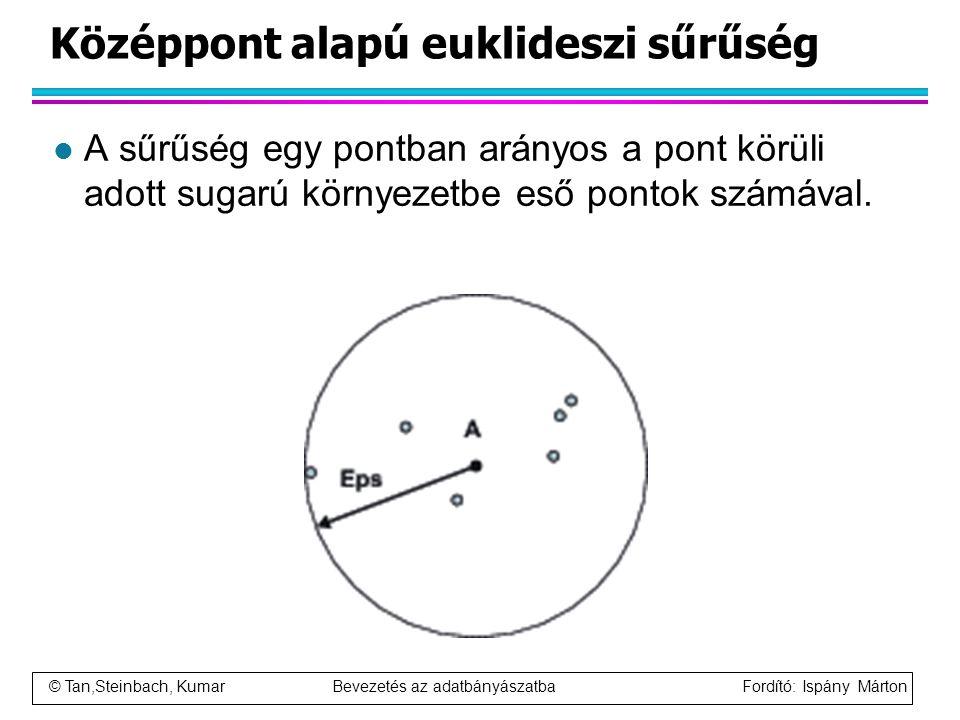 Középpont alapú euklideszi sűrűség