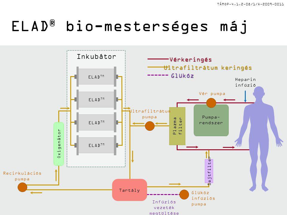 ELAD® bio-mesterséges máj