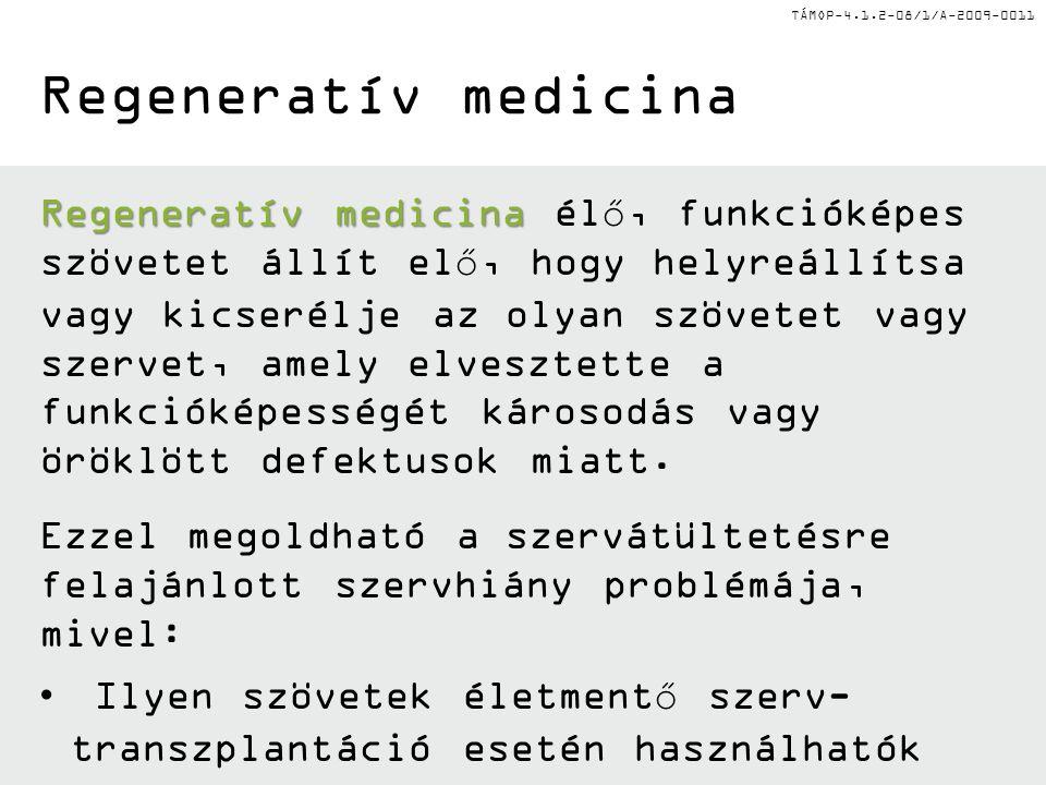 Regeneratív medicina