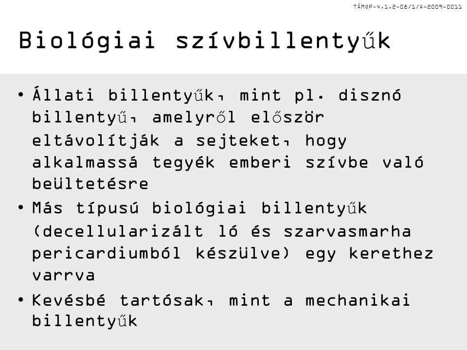 Biológiai szívbillentyűk