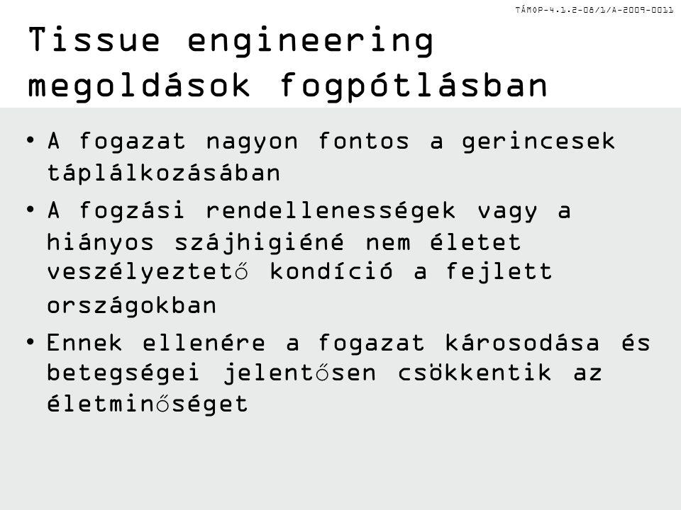 Tissue engineering megoldások fogpótlásban