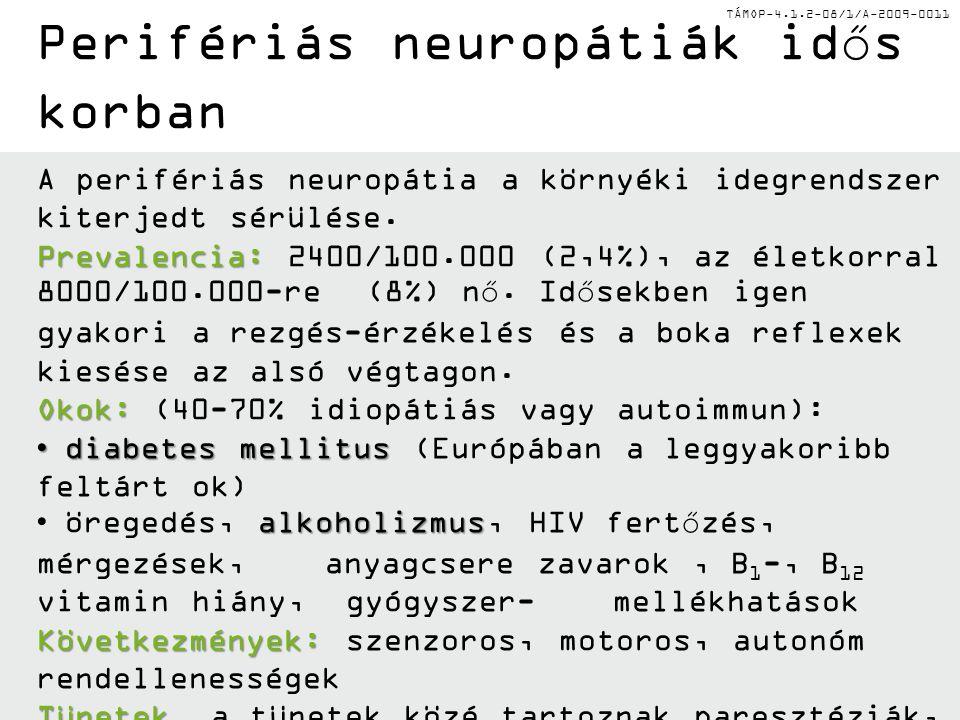 Perifériás neuropátiák idős korban