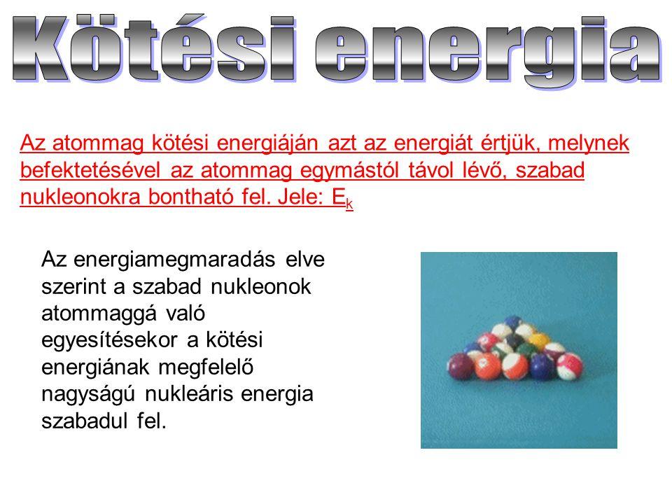 Kötési energia