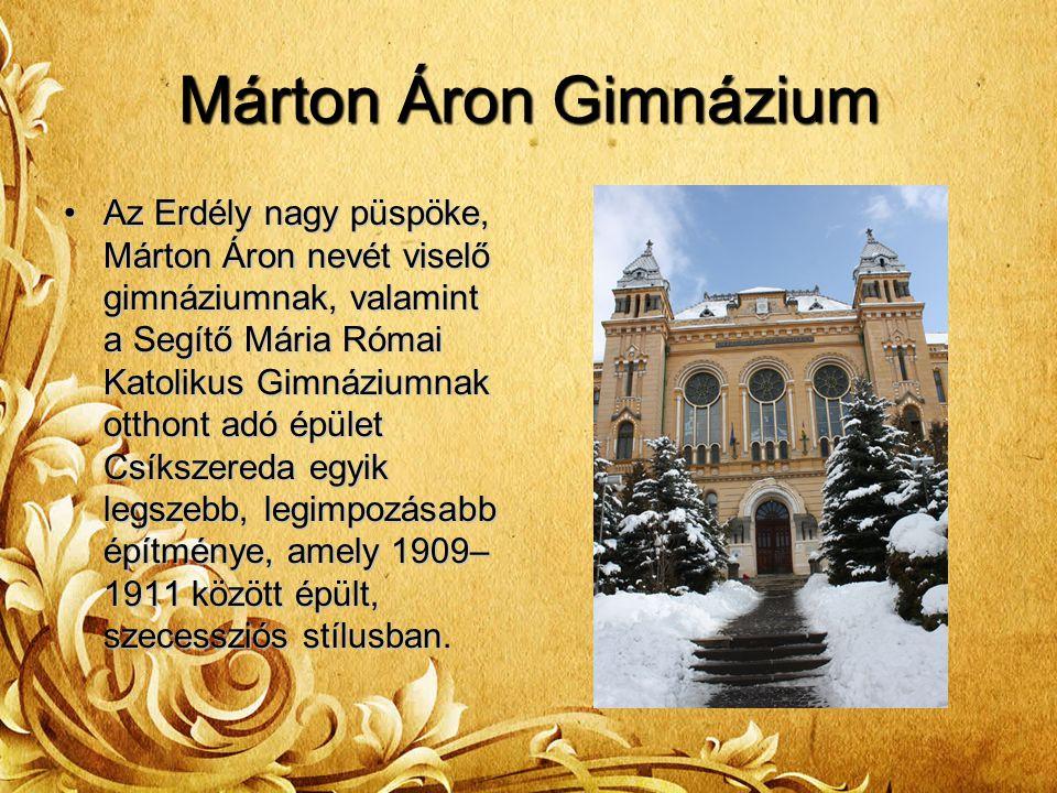 Márton Áron Gimnázium