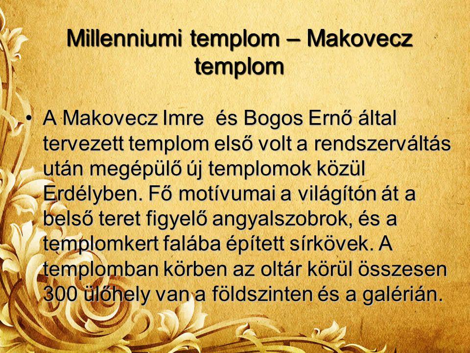 Millenniumi templom – Makovecz templom