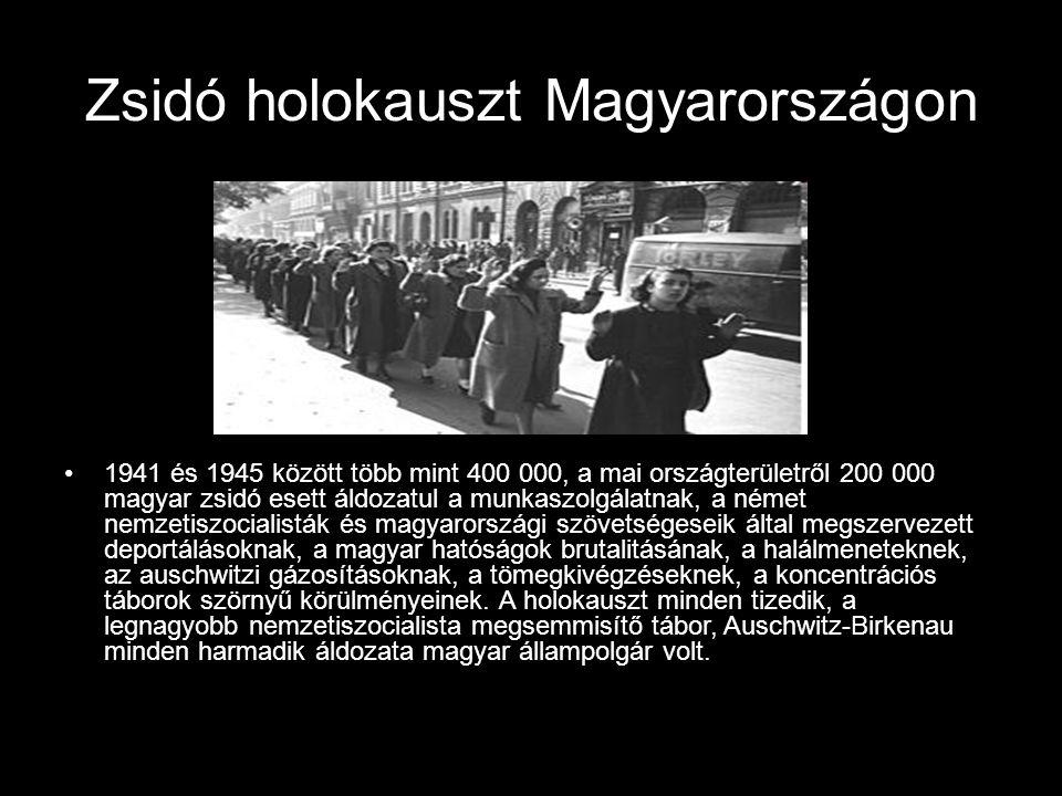 Zsidó holokauszt Magyarországon
