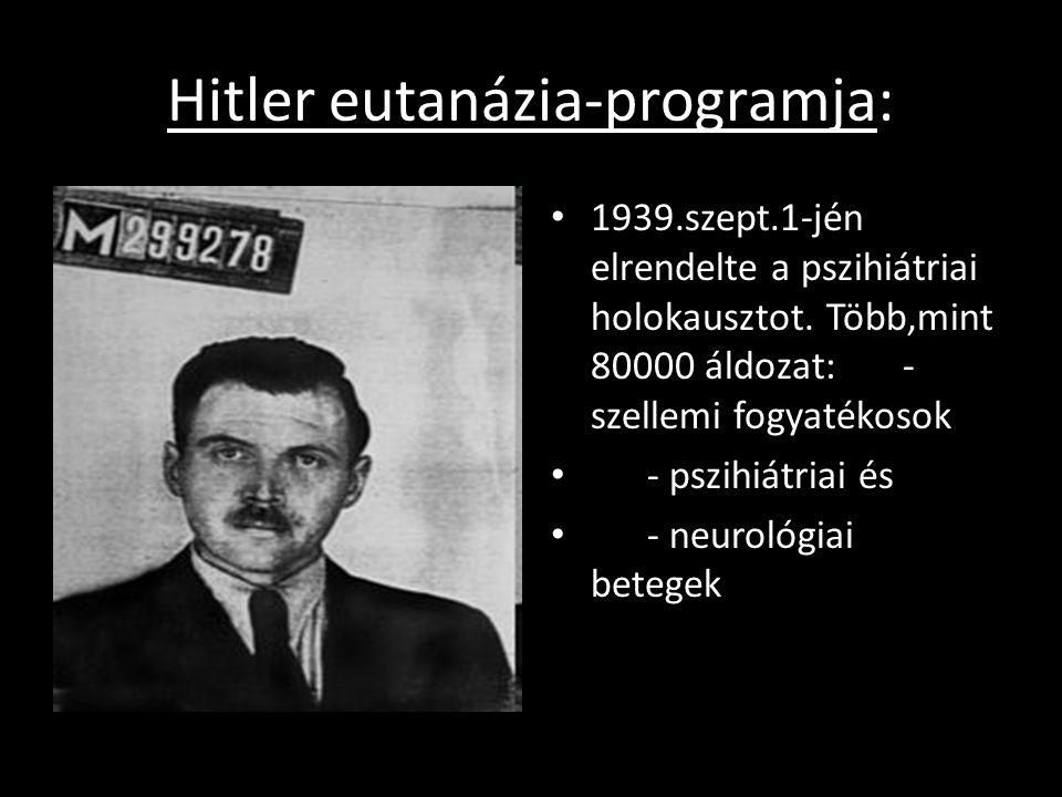 Hitler eutanázia-programja: