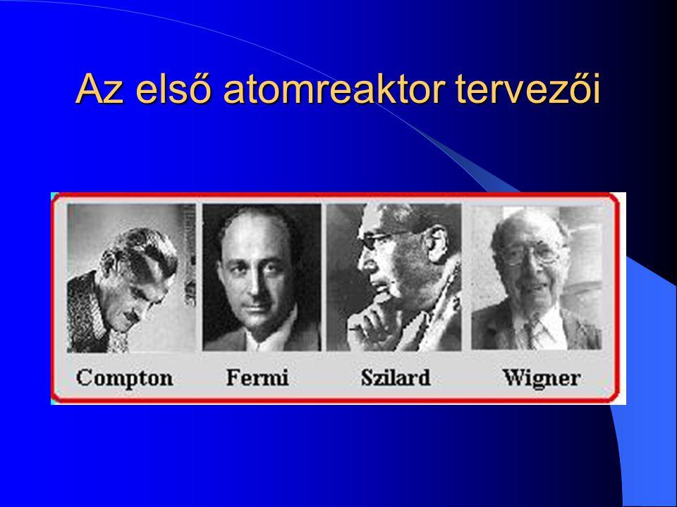 Az első atomreaktor tervezői