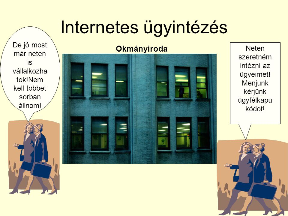 Internetes ügyintézés