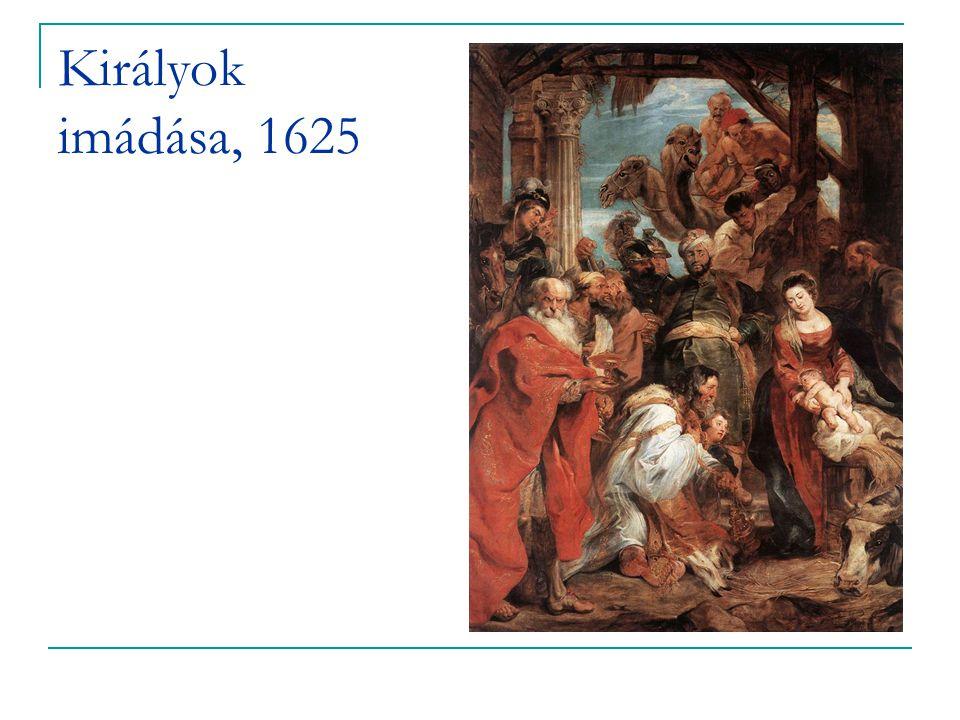 Királyok imádása, 1625