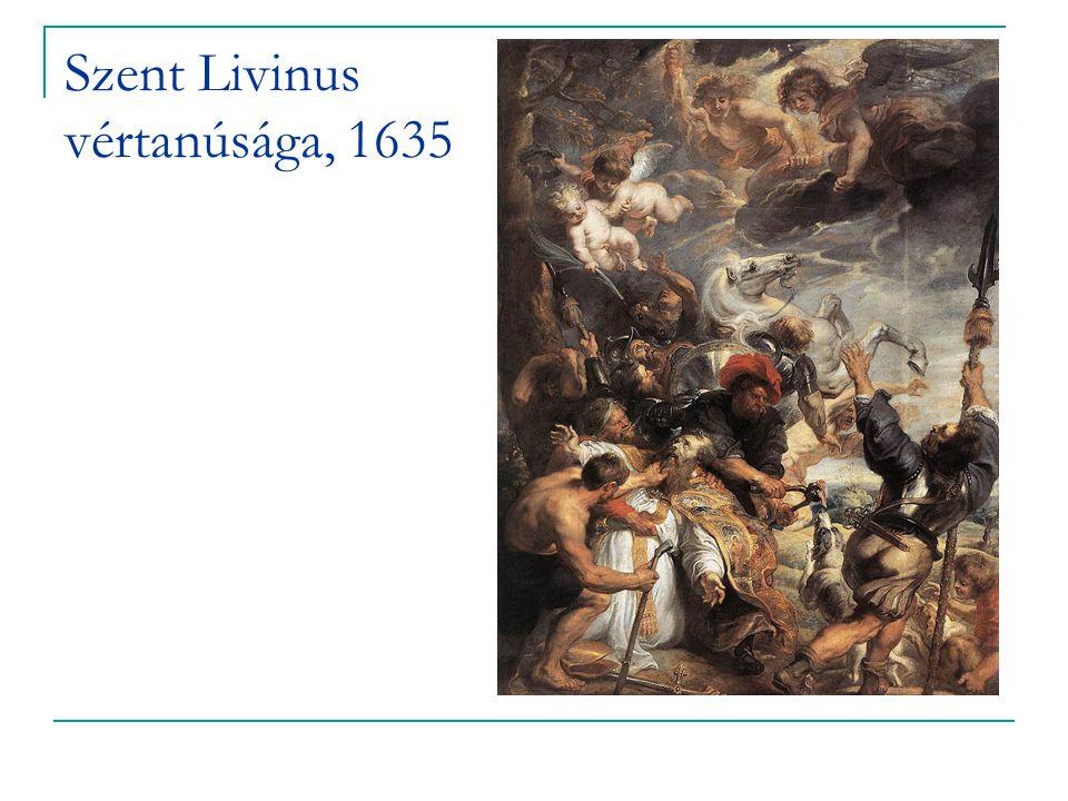 Szent Livinus vértanúsága, 1635