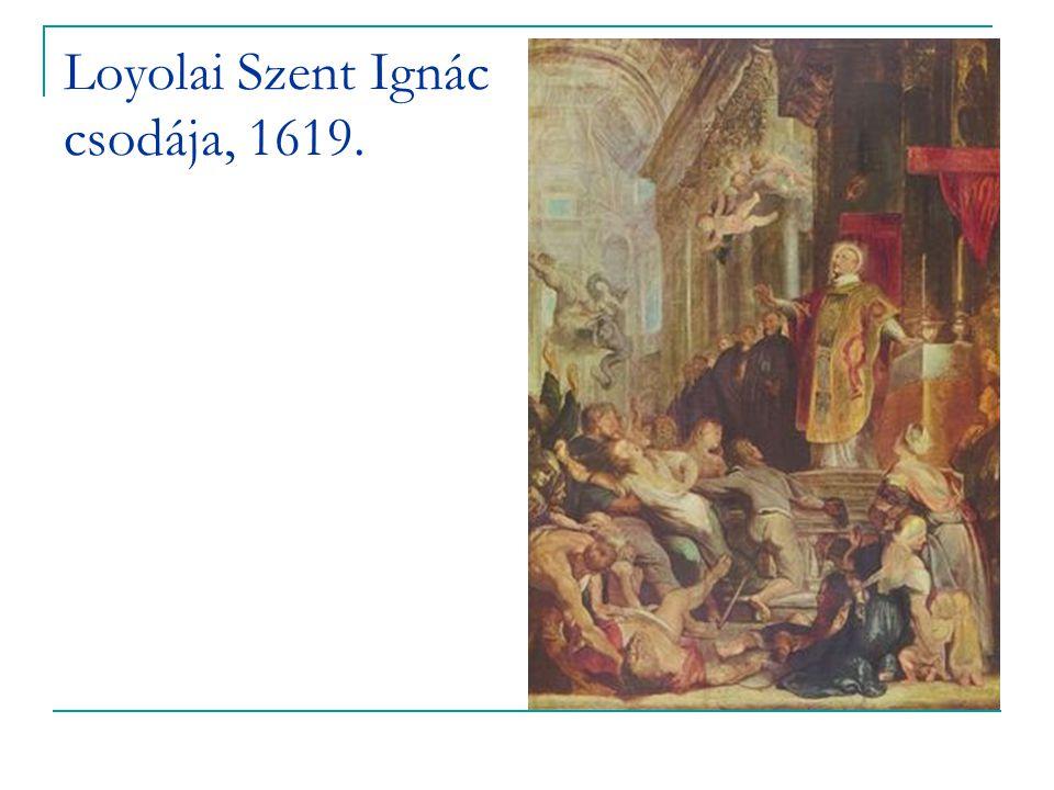 Loyolai Szent Ignác csodája, 1619.