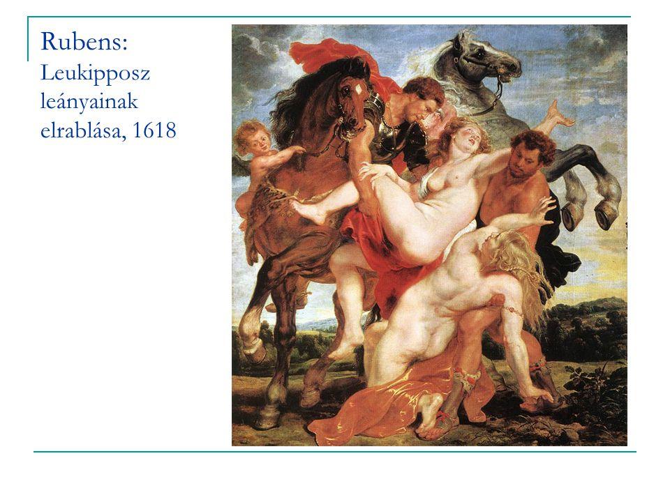 Rubens: Leukipposz leányainak elrablása, 1618
