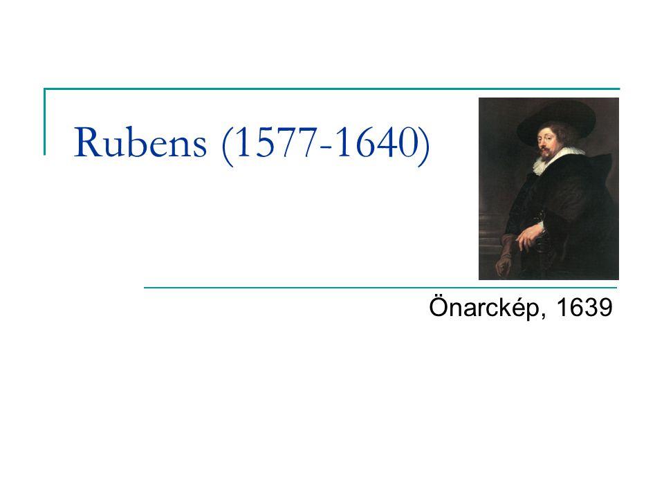 Rubens (1577-1640) Önarckép, 1639