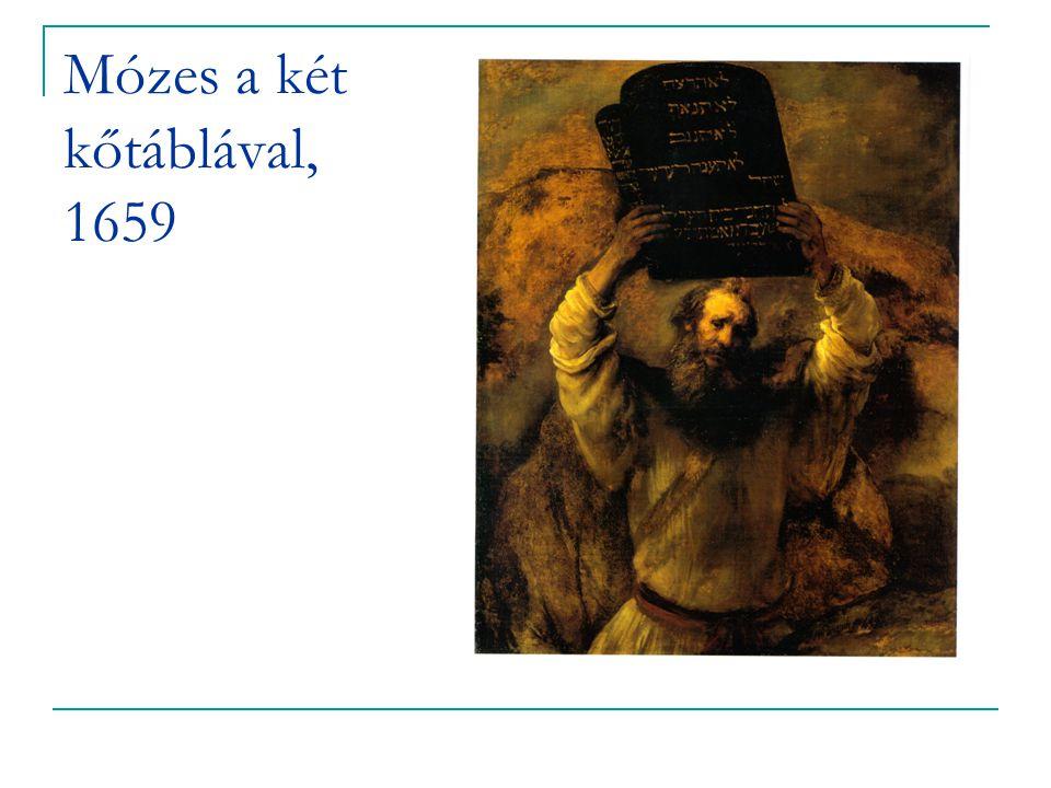 Mózes a két kőtáblával, 1659