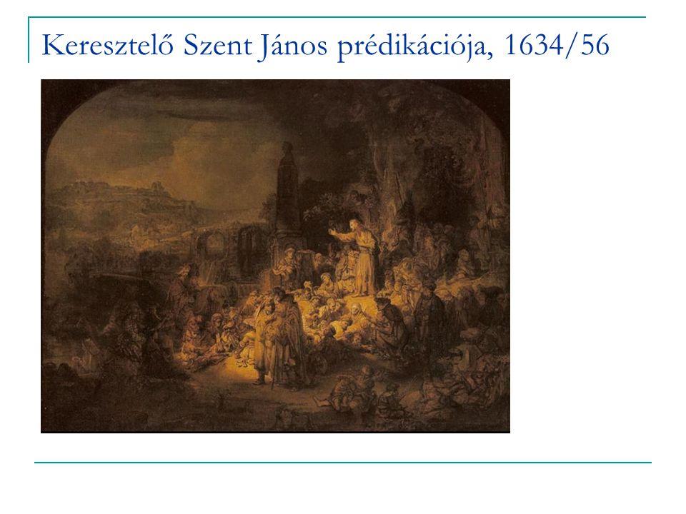 Keresztelő Szent János prédikációja, 1634/56