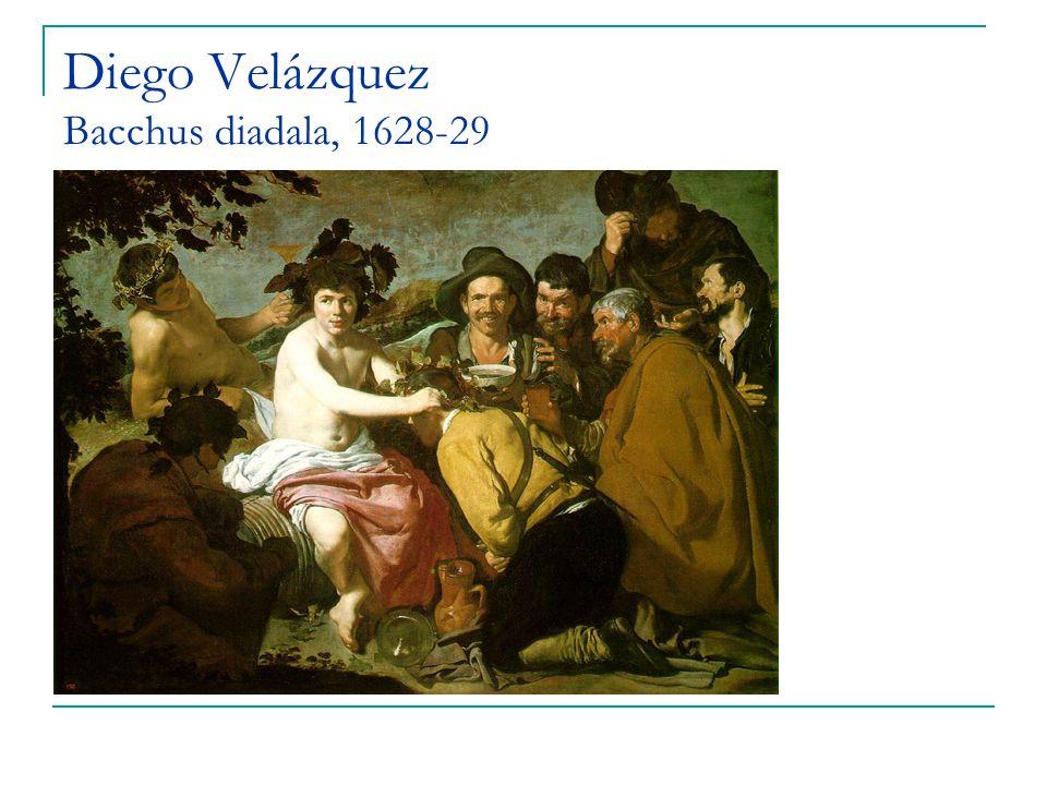 Diego Velázquez Bacchus diadala, 1628-29