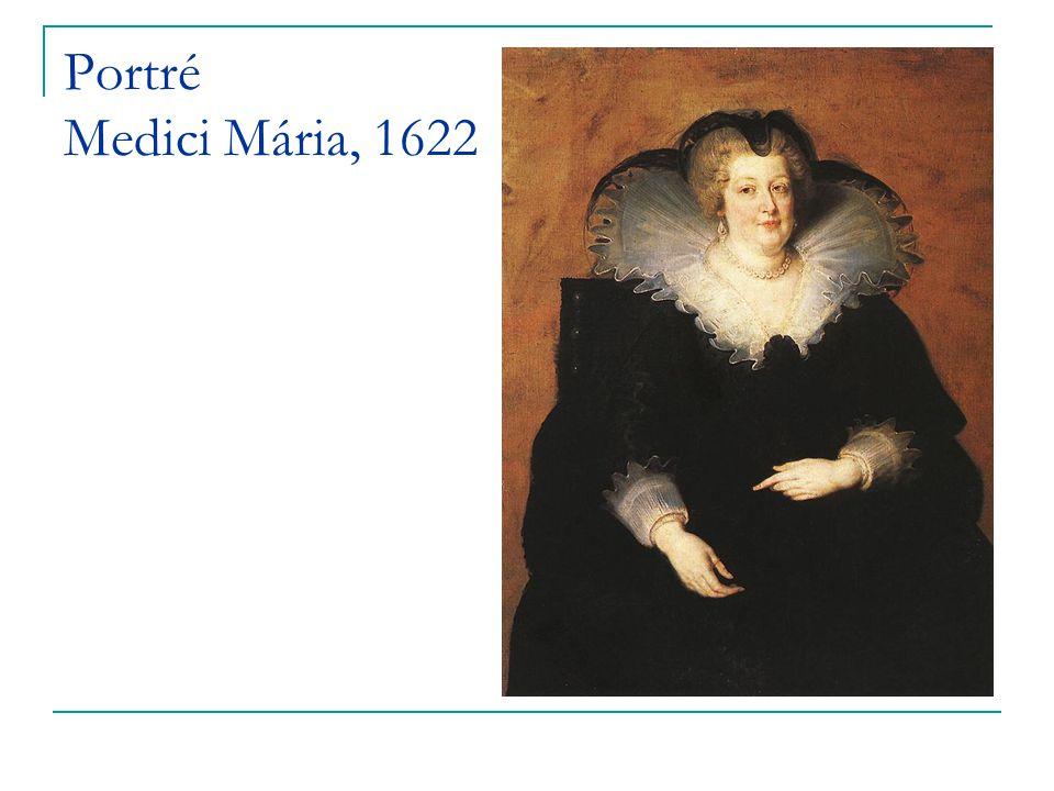 Portré Medici Mária, 1622