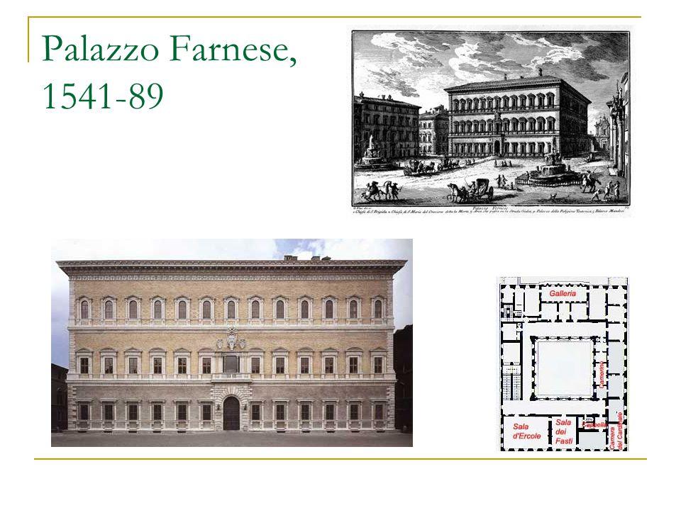 Palazzo Farnese, 1541-89