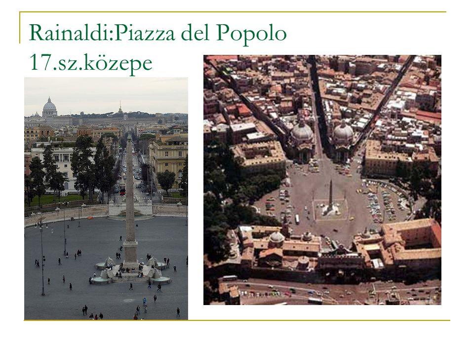 Rainaldi:Piazza del Popolo 17.sz.közepe
