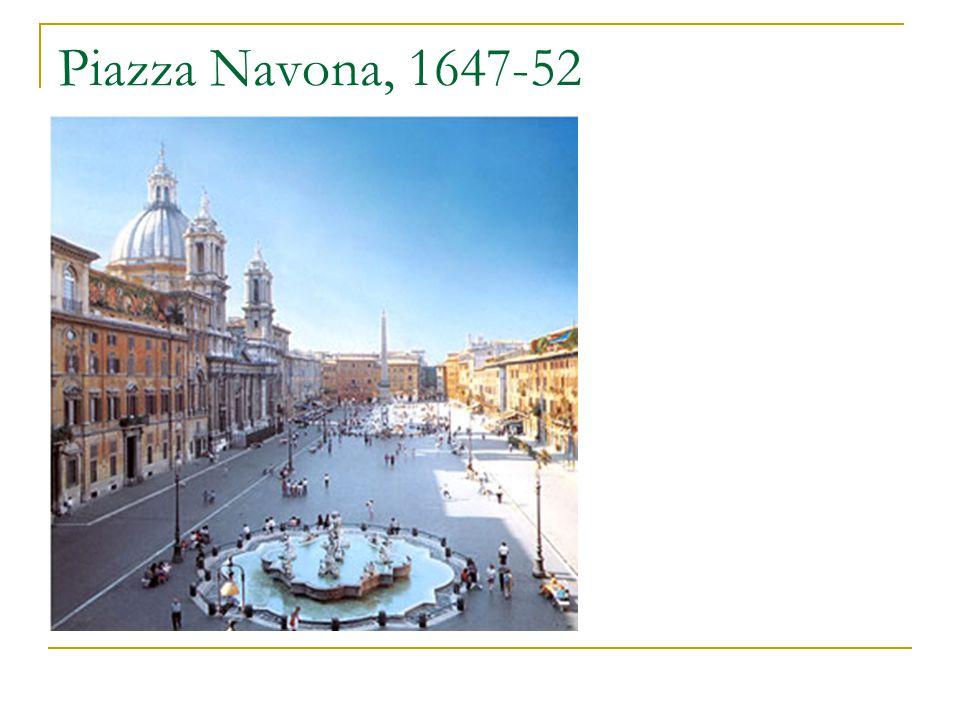 Piazza Navona, 1647-52