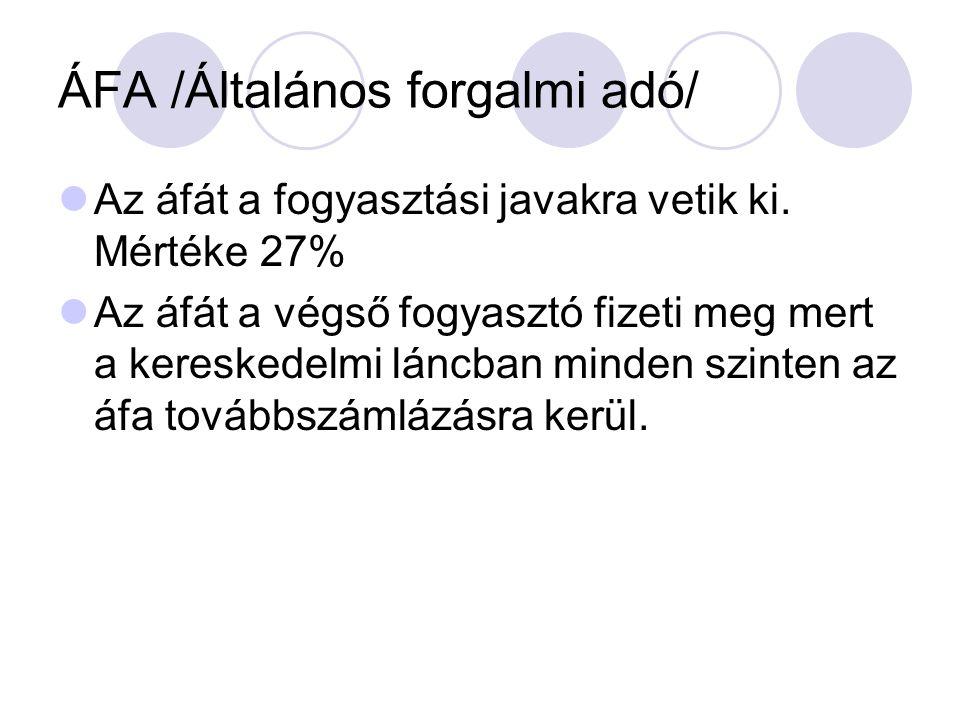 ÁFA /Általános forgalmi adó/