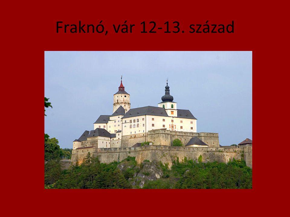 Fraknó, vár 12-13. század