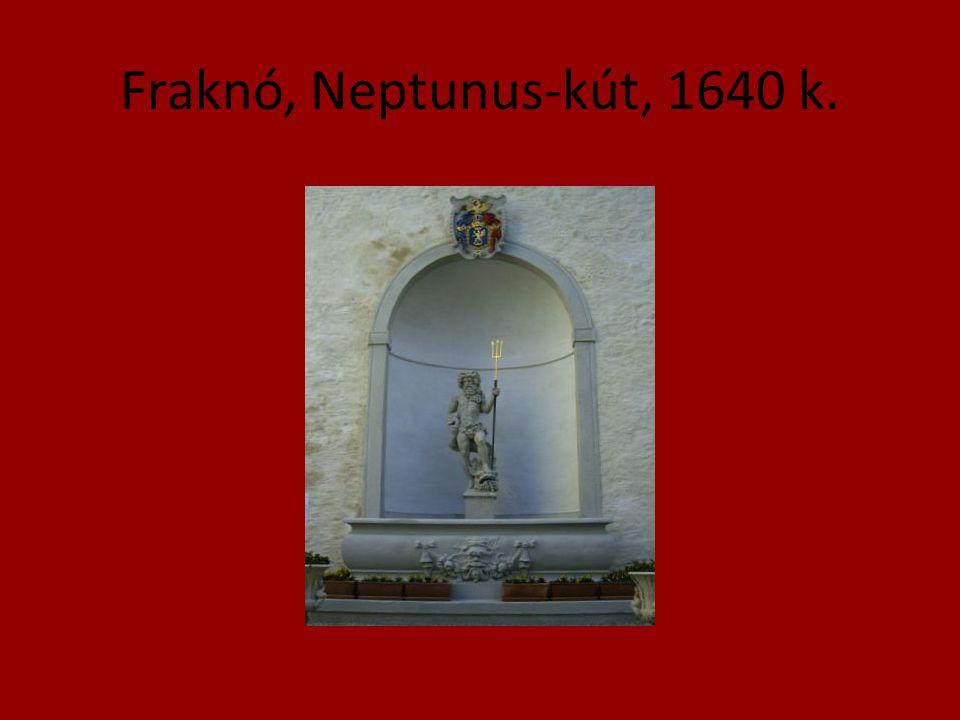 Fraknó, Neptunus-kút, 1640 k.