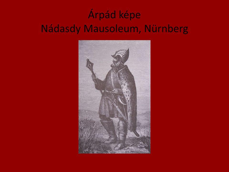 Árpád képe Nádasdy Mausoleum, Nürnberg