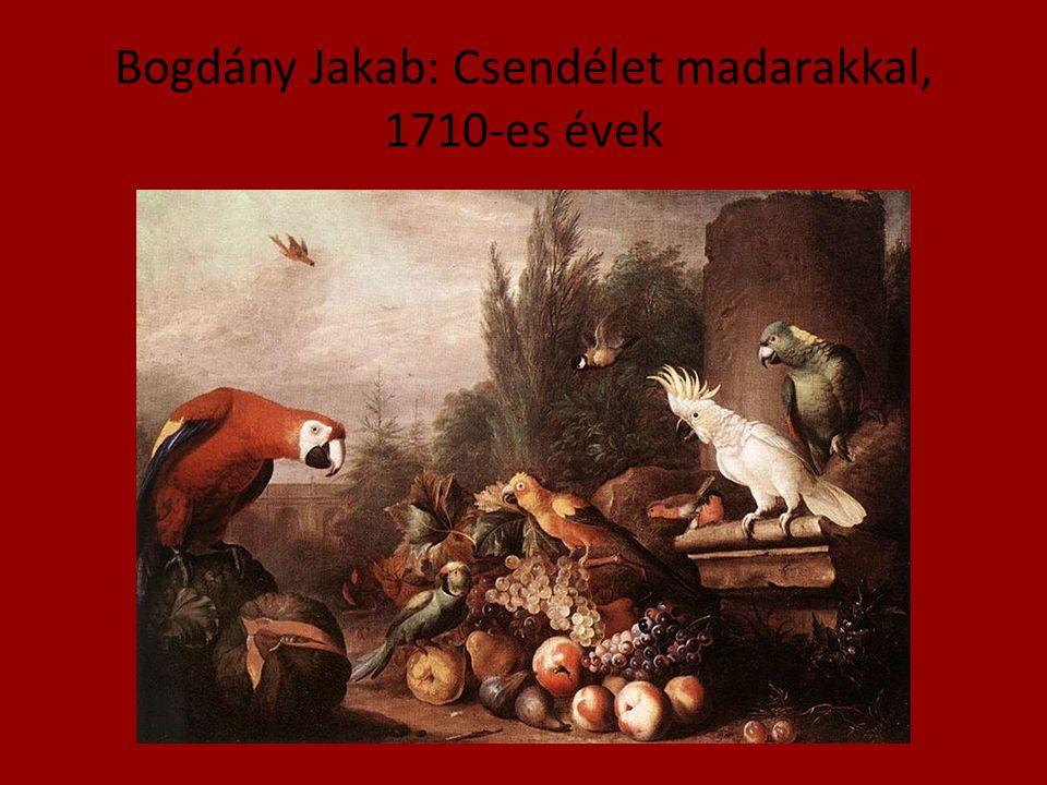 Bogdány Jakab: Csendélet madarakkal, 1710-es évek