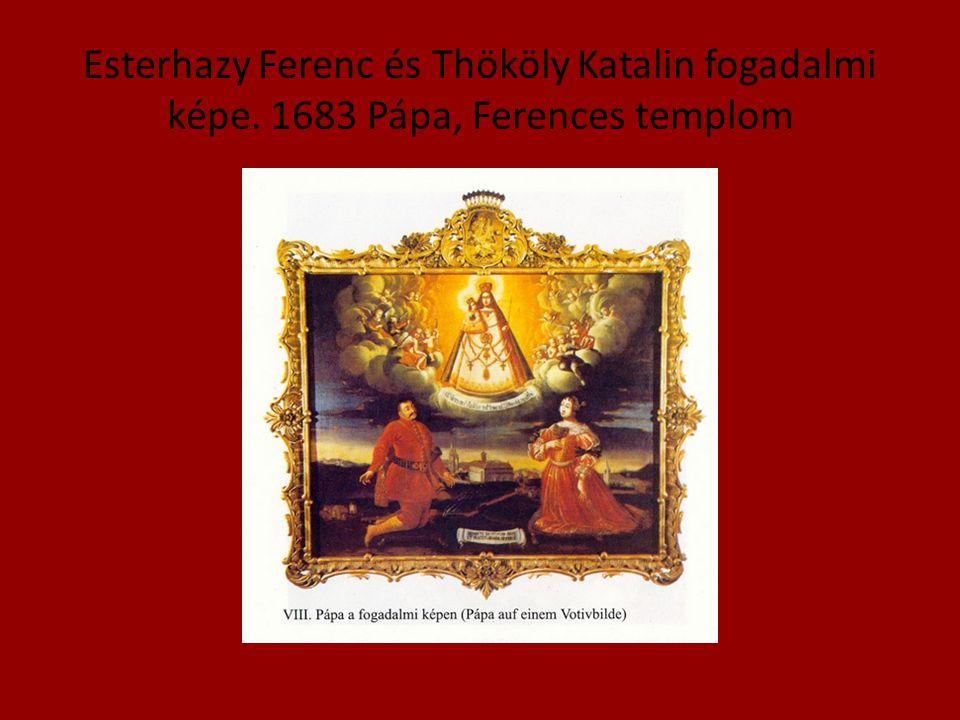 Esterhazy Ferenc és Thököly Katalin fogadalmi képe