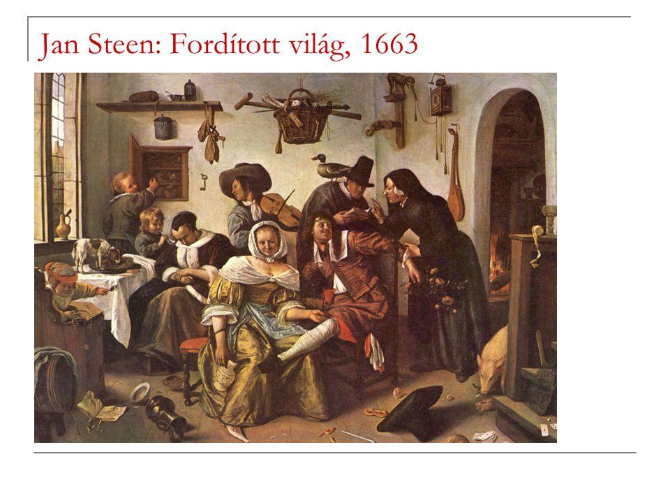 Jan Steen: Fordított világ, 1663